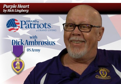 "Grand Patriot: Dick Ambrosius ""Purple Heart"""